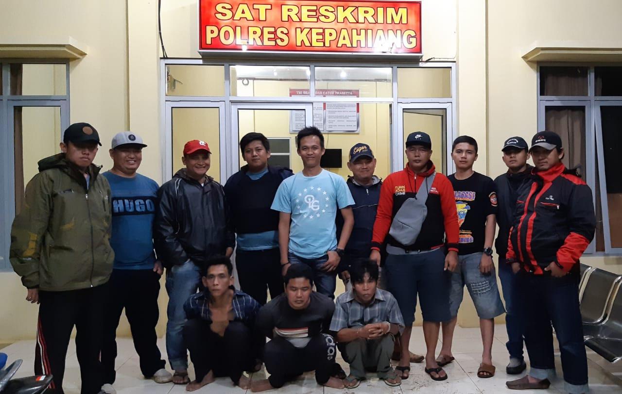 Unit Buser Polres Kepahiang  Tangkap 3 DPO Pelaku Spesialis Bongkar Rumah