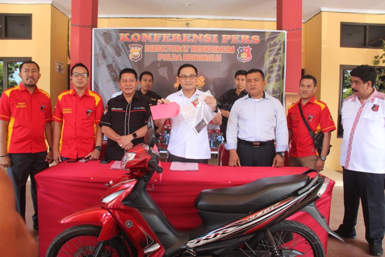 Jatanras Polda Bengkulu Bekuk 2 Tsk Curat Spesialis Kota Bengkulu
