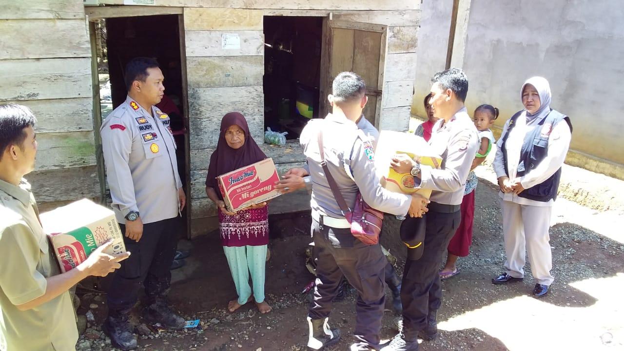 Patroli Kamtibmas Perbatasan, Polres Bengkulu Selatan Cek TPS Daerah Terpencil