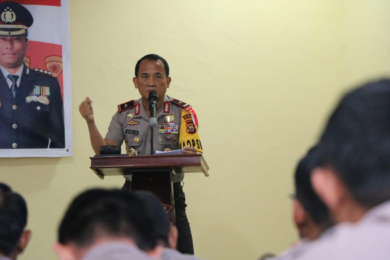 Rakorbin SDM Polda Bengkulu 2018, Ini 7 Penekanan Kapolda
