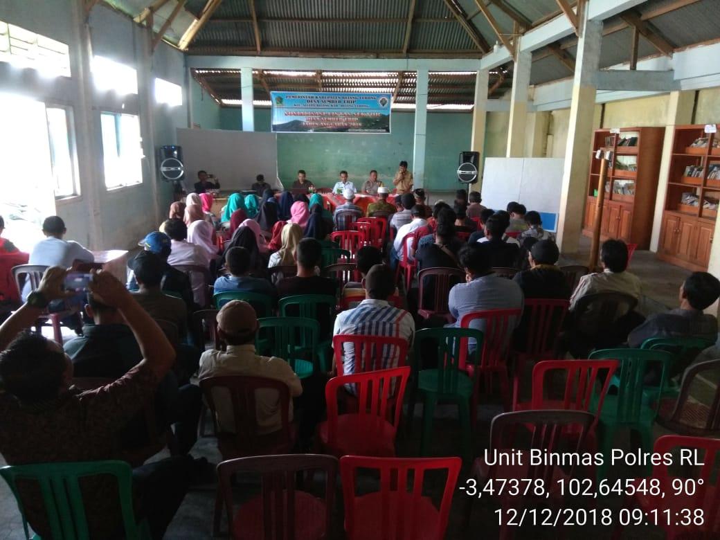 Seminar Lintas Sektoral, Kasat Binmas Himbau Jaga Kondusitifitas Kamtibmas