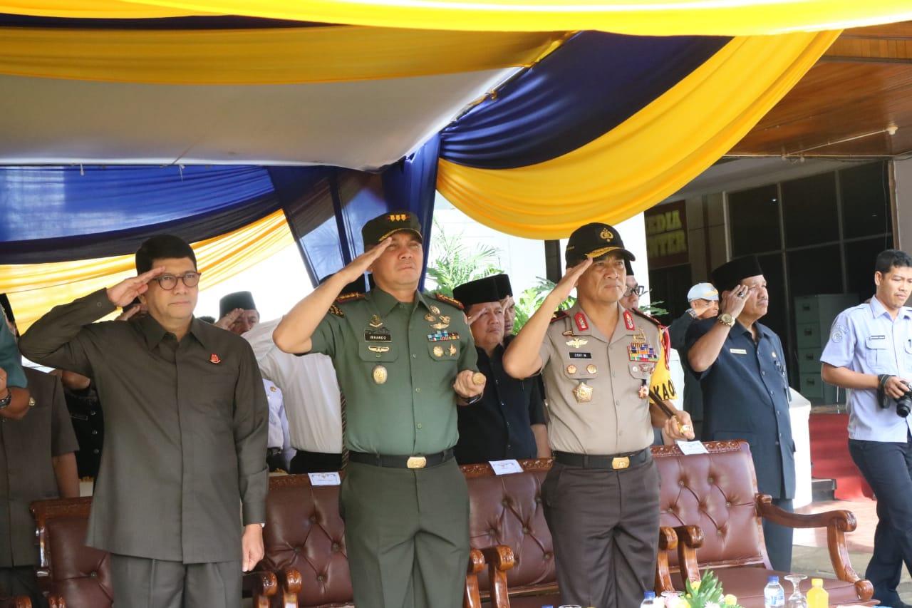 Peringati Hari Nusantara, Kapolda Upacara Bendera di Kantor Gubernur