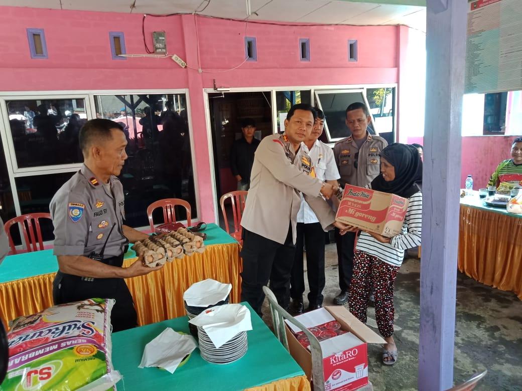 """Patroli Kamtibmas"", Polres Bengkulu Sambangi Wilayah Terpencil dan Gelar Bhakti Sosial"