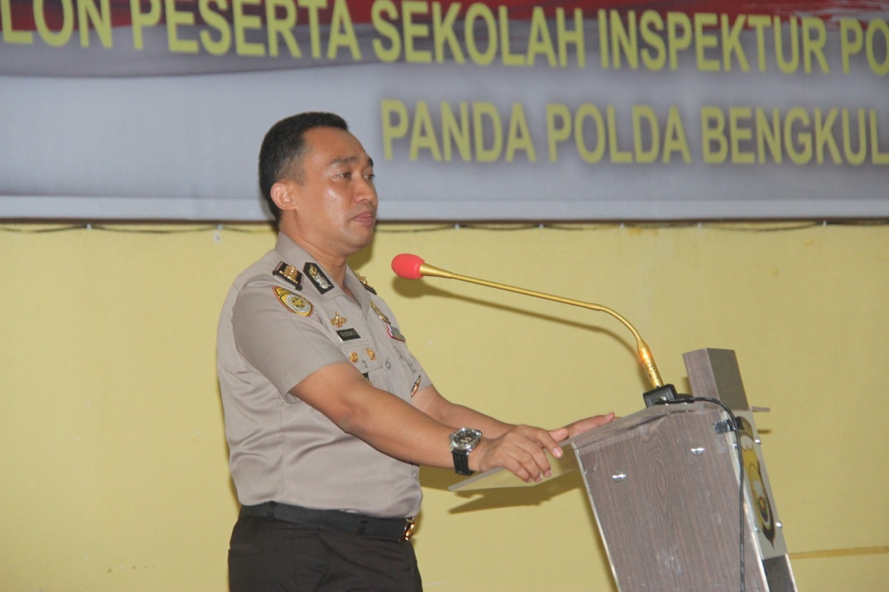 Biro SDM Polda Bengkulu Gelar Binlat Psikologi SIP TA 2019