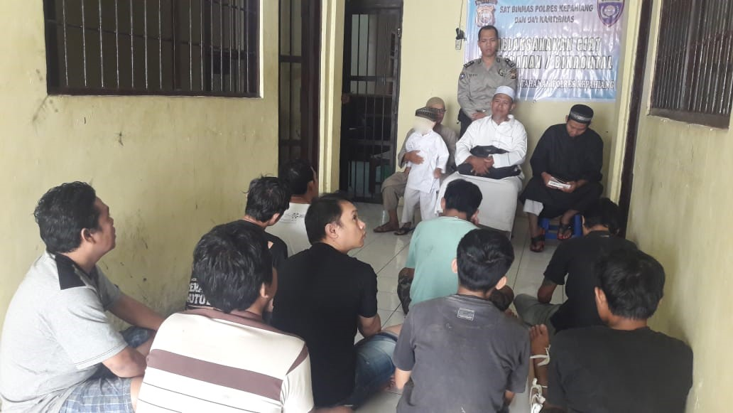 Dai Kamtibmas Binrohtal Tahanan di Polres Kepahiang