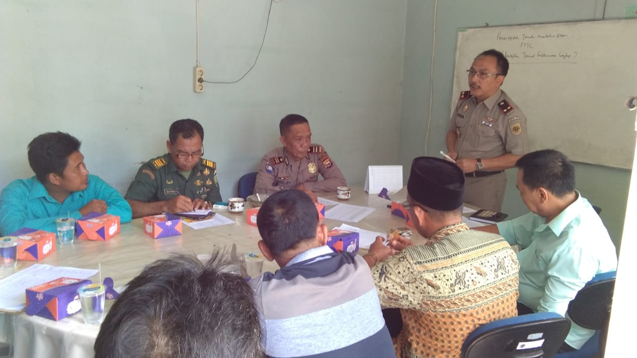 Kasat Binmas Polres Bengkulu Selatan Hadiri Kegiatan Rakor PTSL Bersama Badan Pertanahan