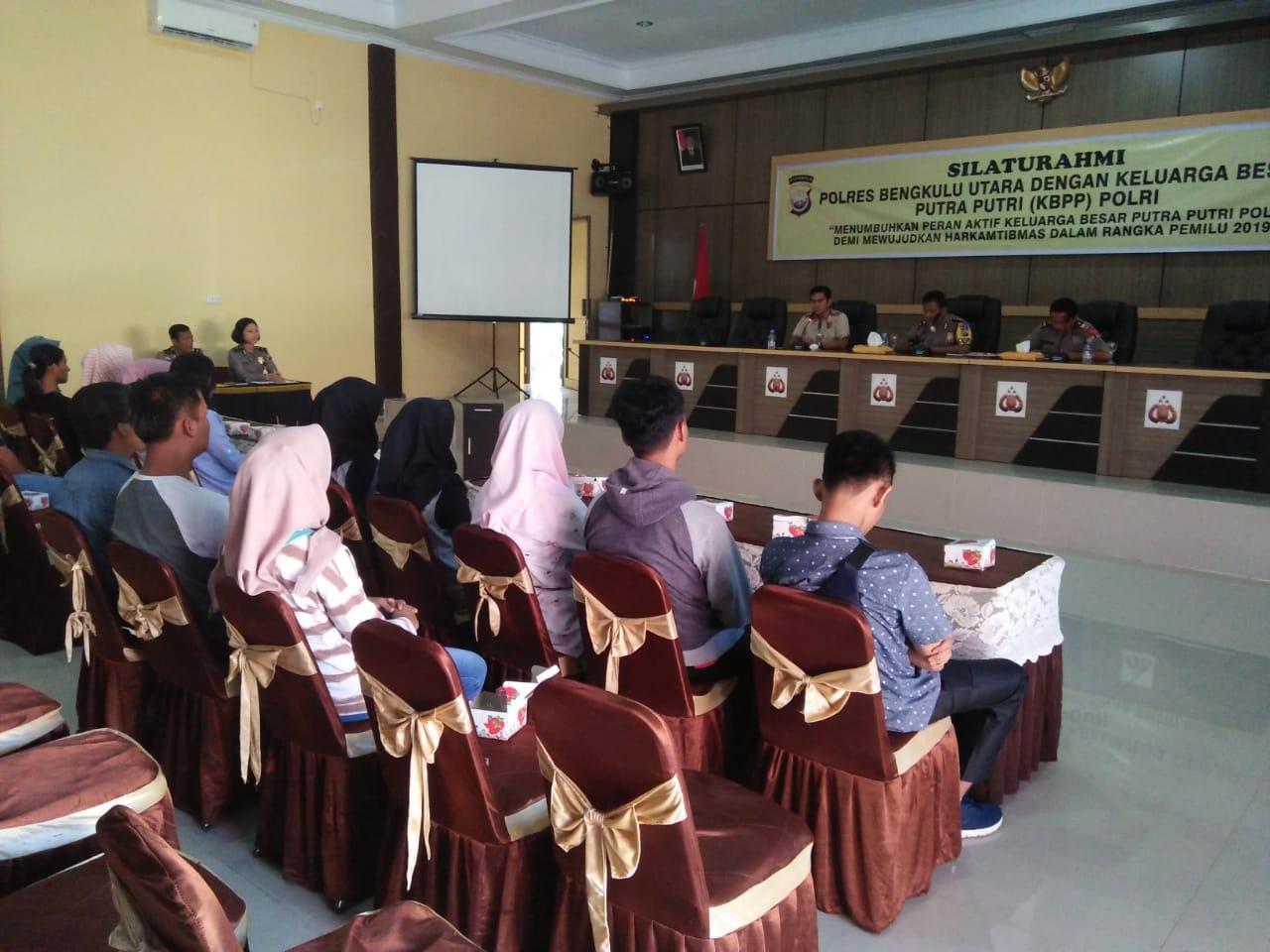 Silaturahmi Polres Bengkulu Utara Bersama Keluarga Besar Putra Putri (KBPP) Polri