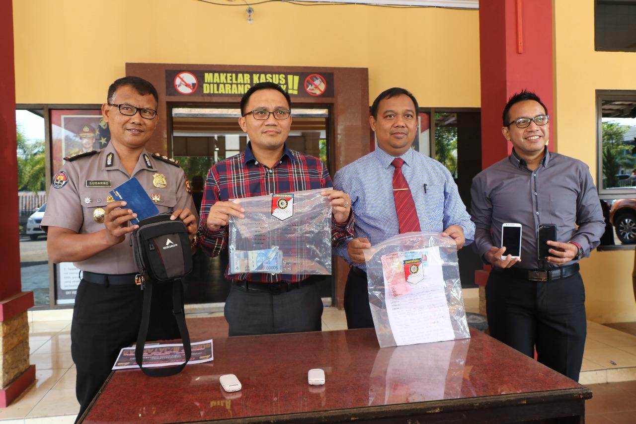 Polda Bengkulu Gelar Press Conference OTT Oknum DPRD Benteng