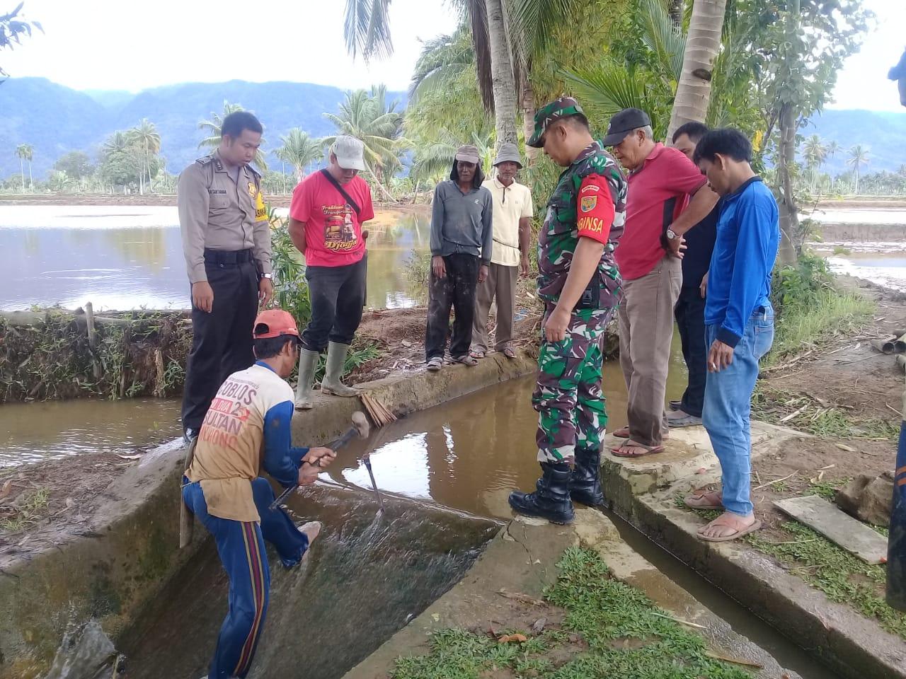 Dimediasi Tiga Pilar Desa, Warga Bersedia Membuka Kembali Saluran Irigasi