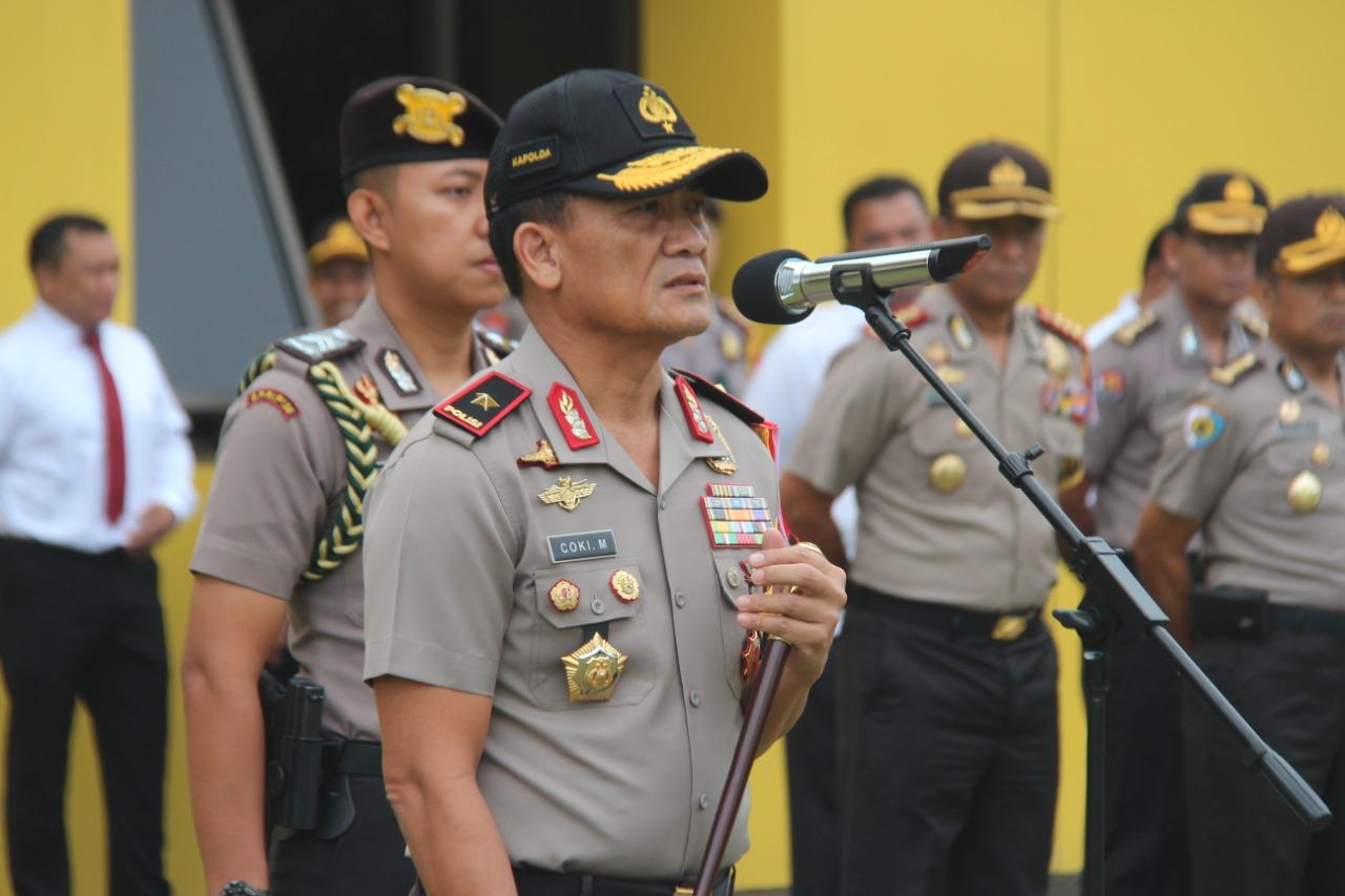 Kurang dari 100 Hari Menjelang Pemilu, Kapolda Bengkulu Perintahkan Anggota Tingkatkan Kepekaan