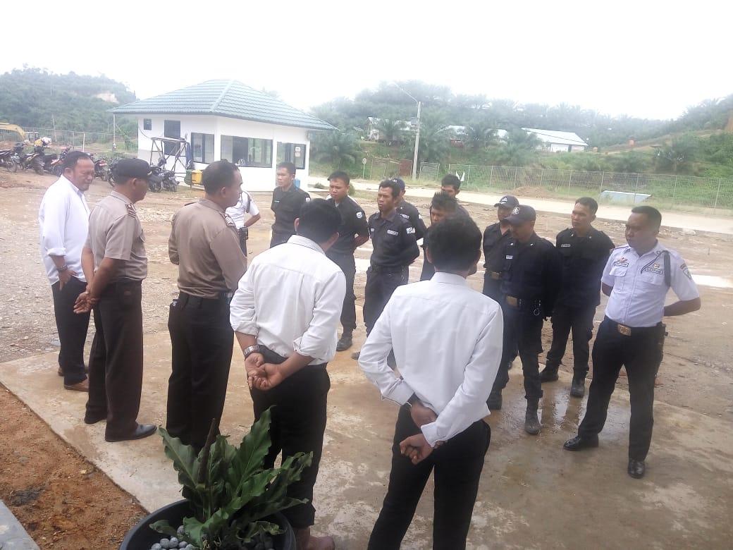 Sat Binmas Polres Kaur Gelar Pembinaan Satpam Sebagai Mitra Kepolisian