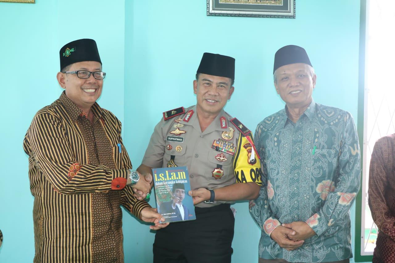 Bukan Hanya Muhammadiyah, Kapolda Bengkulu Juga Silahturahmi Ke NU