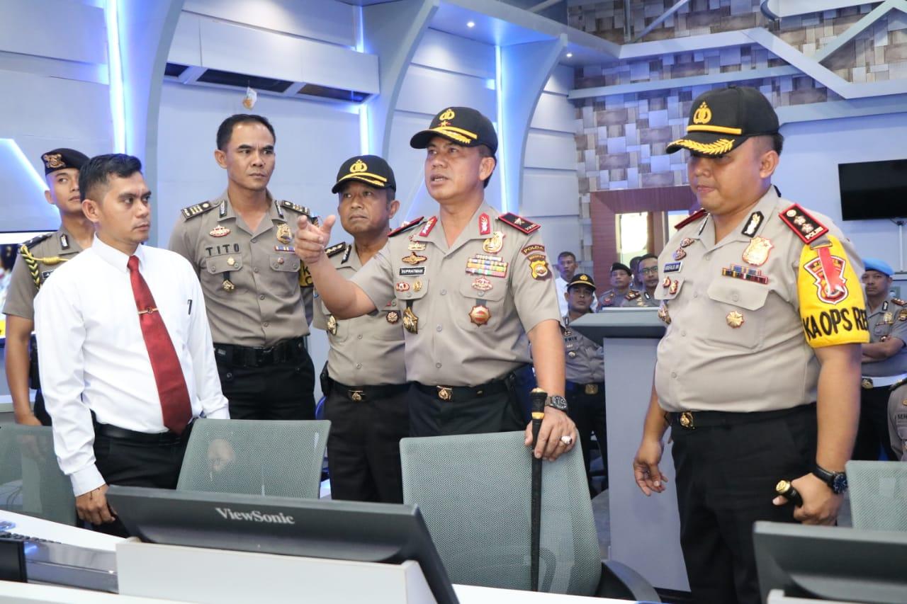 Comand Centre Buat Ruang Gerak Pelaku Kriminal Sempit