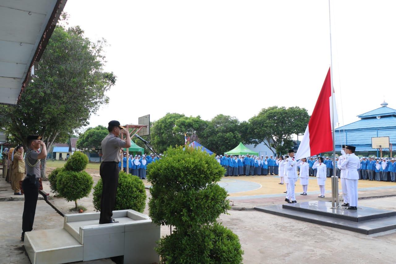 SMAN 2 Kota Bengkulu, Sekolah Pertama yang Dikunjungi Kapolda Bengkulu