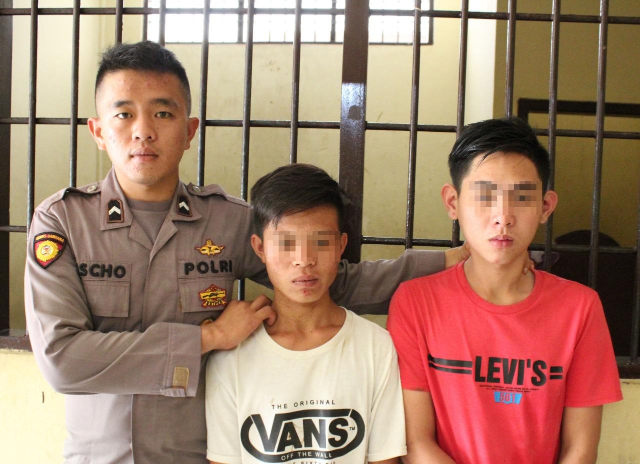 Tim Buser Polres Kepahiang Tangkap 2 Residivis Pelaku Jambret yang Terkenal Licin Beraksi