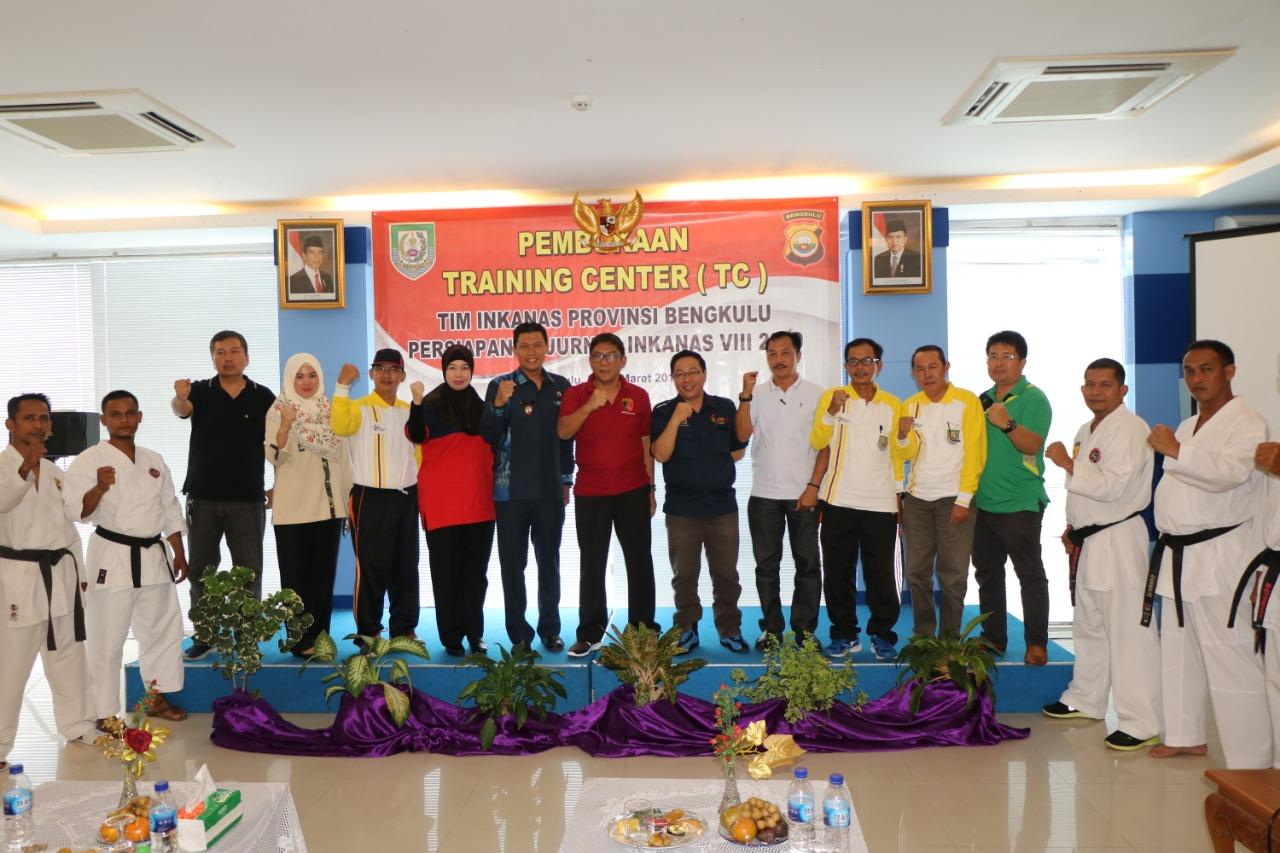 Persiapan Kejurnas, Inkanas Provinsi Bengkulu Gelar Training Center