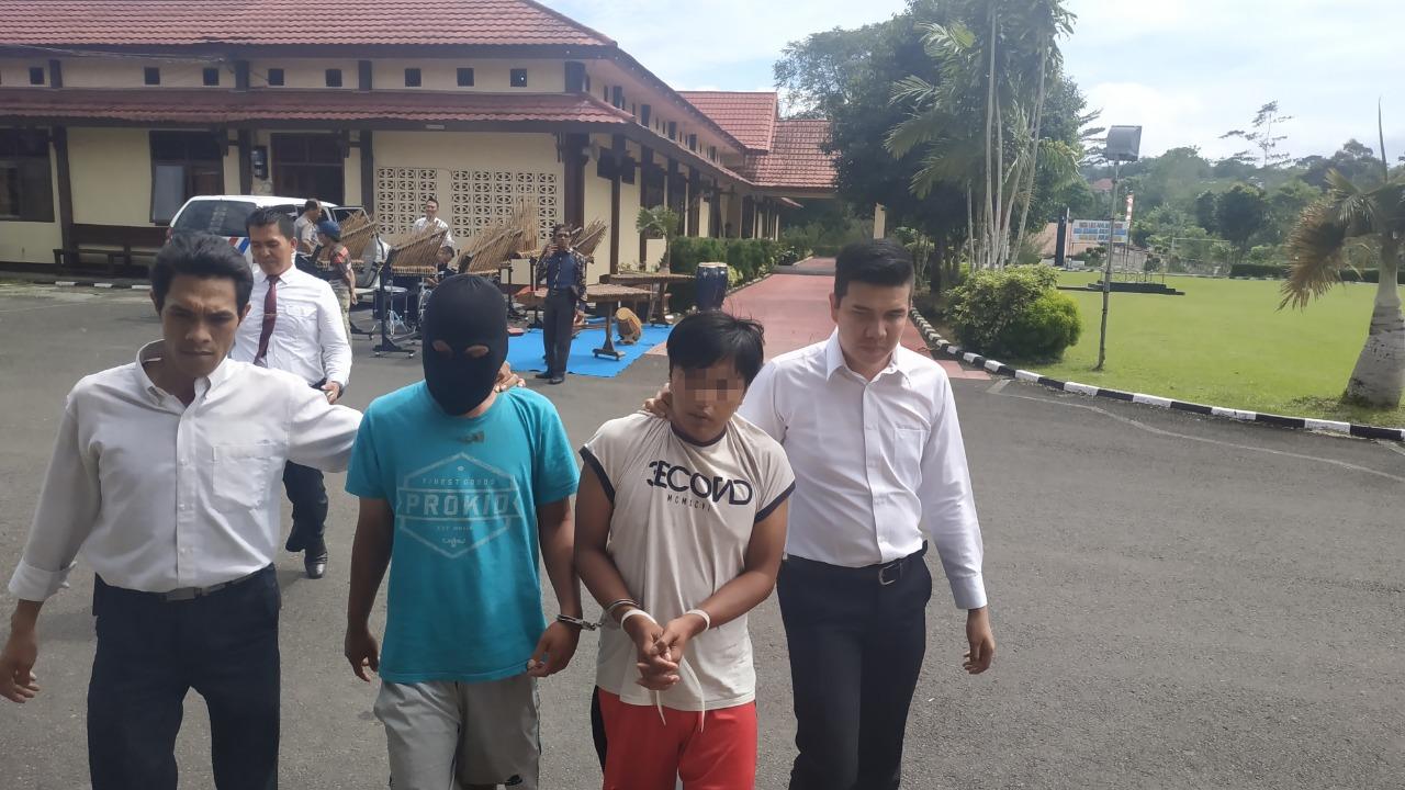 Resahkan Masyarakat, Polisi Tangkap 2 Orang Pengedar Narkoba