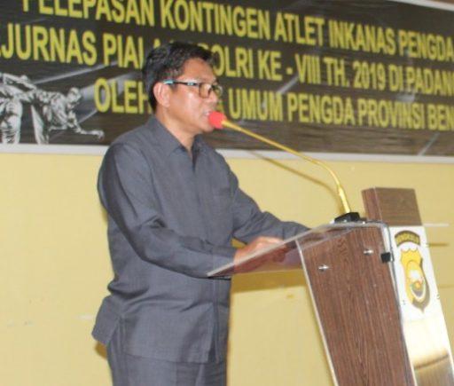 Dir Reskrimsus Lepas 81 Orang Kontingen Inkanas Ikuti Piala Kapolri