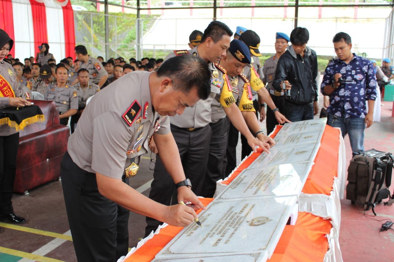 Dukung Kesiapan Pemilu Kapolda Bengkulu Resmikan  Command Center Polres Kepahiang
