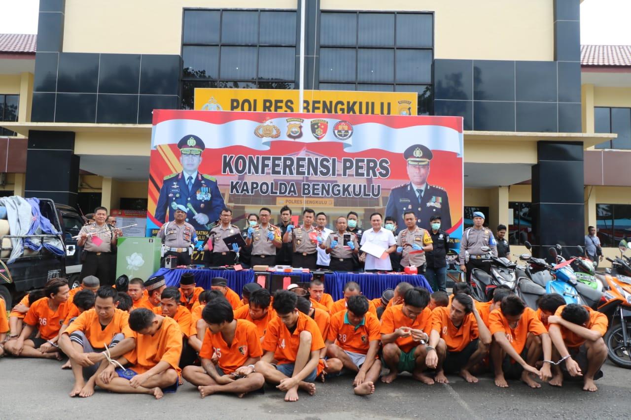 Kapolda Bengkulu; Informasi dari Masyarakat Sumbang Keberhasilan Pengungkapan Kasus