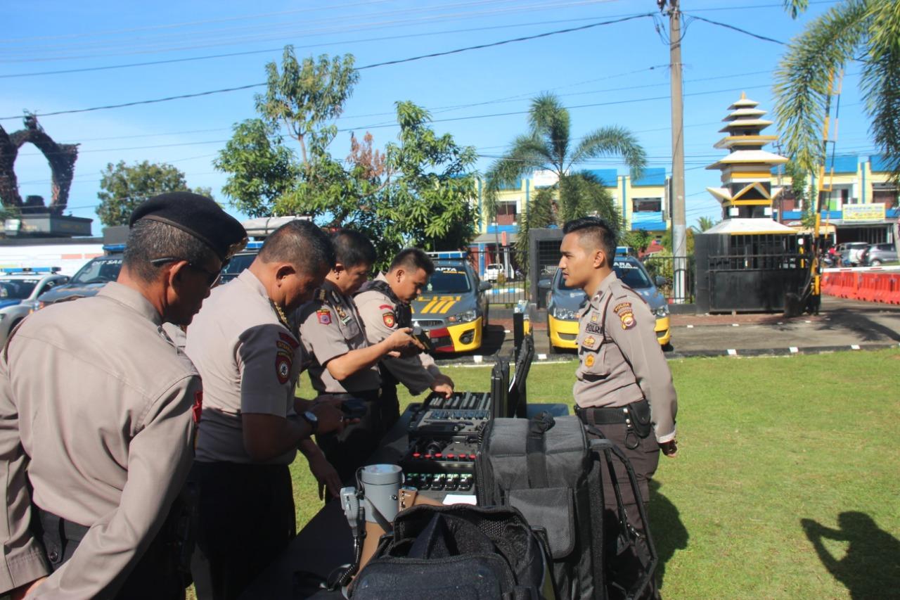 Pastikan Kesiapan Pengamanan Pemilu, Tim Monitoring dan Asistensi Mabes Polri Kunjungi Polda Bengkulu