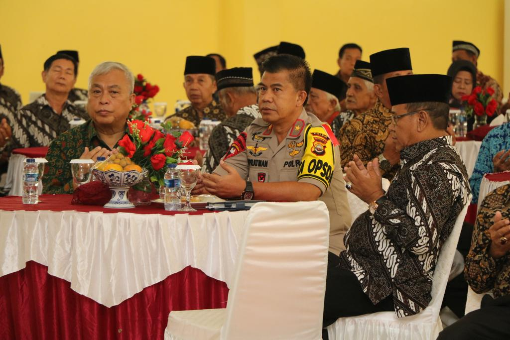 Jalin Silaturahmi, Kapolda Bengkulu Gelar Tatap Muka Bersama Purnawirawan Polri dan Warakawuri