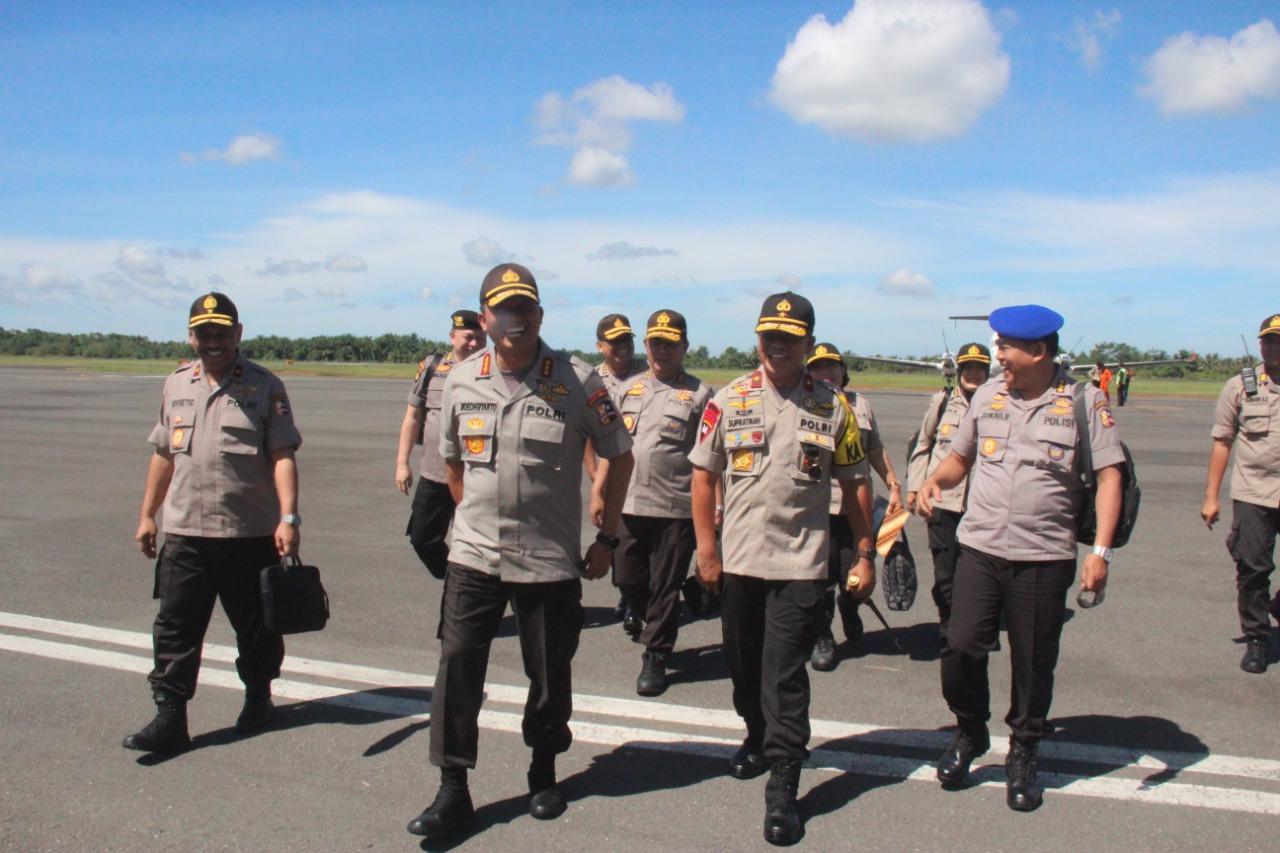 Pantau Kesiapan Pengamanan Pemilu, Kabaharkam Kunjungi Bengkulu