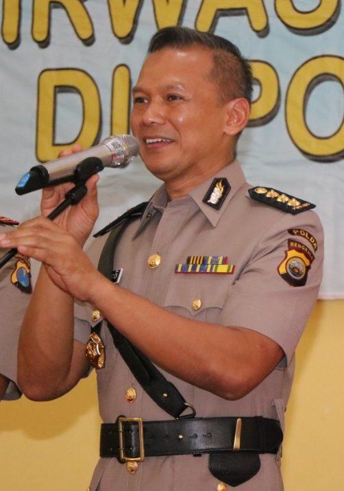 Pimpin Apel Pagi, Irwasda Polda Bengkulu Ingatkan Tupoksi Kepolisian