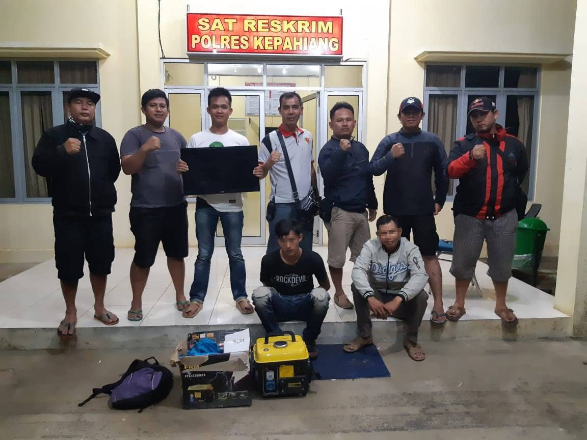 Resahkan Warga, 3 Pelaku Curat di Tangkap Tim Opsnal Polres Kepahiang