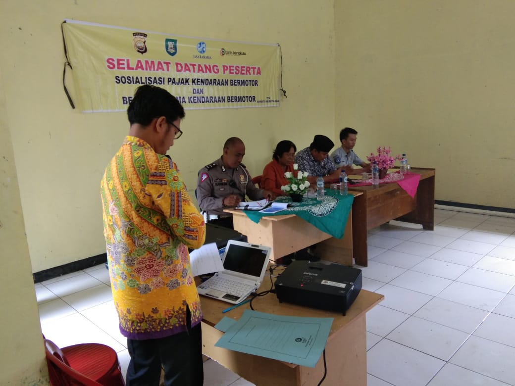 Sosialisasi Pajak dan Bea Balik Nama Kendaraan Bermotor Kabupaten Kaur