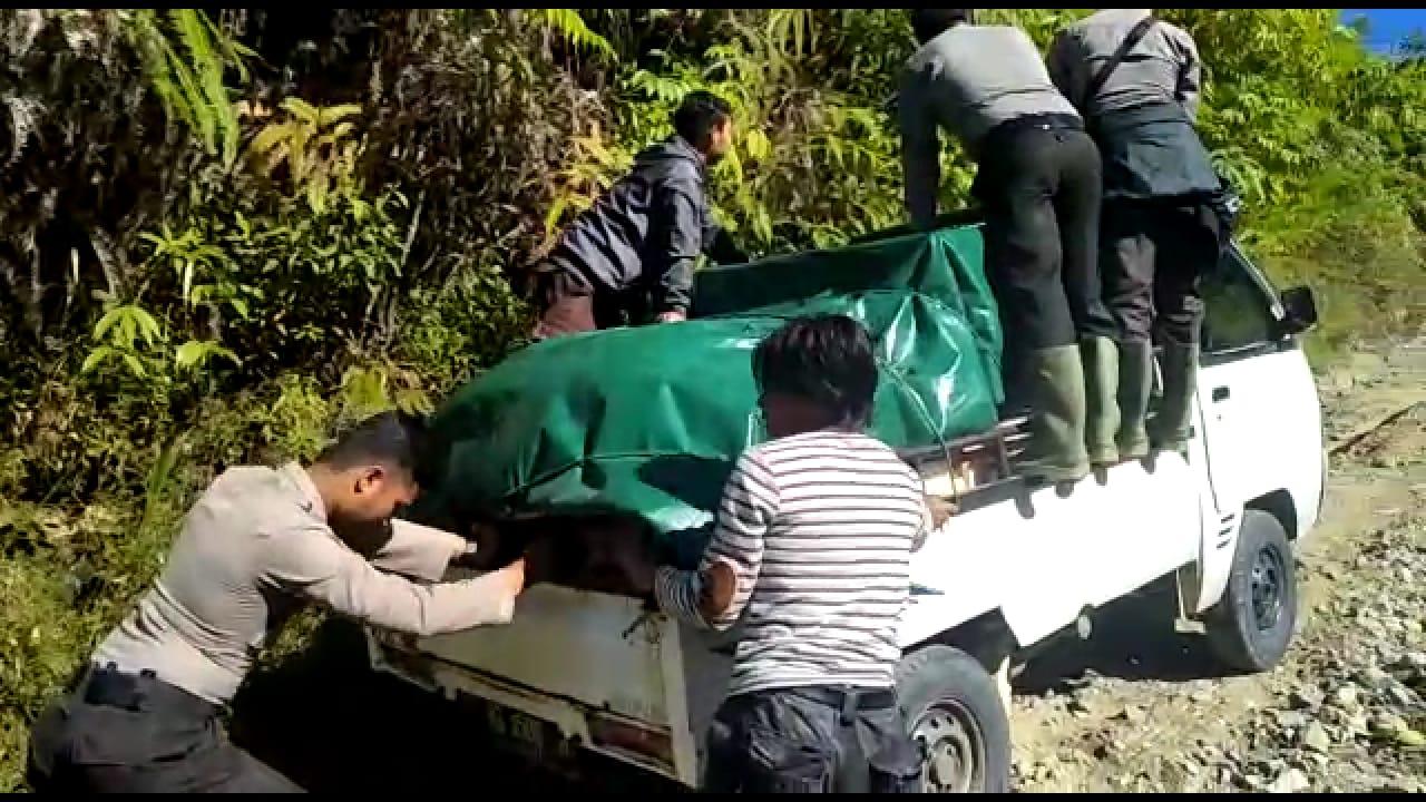 Perjuangan Kawal Logistik di TPS Desa Sungai Lisai dan 23 TPS Rawan Lainnya