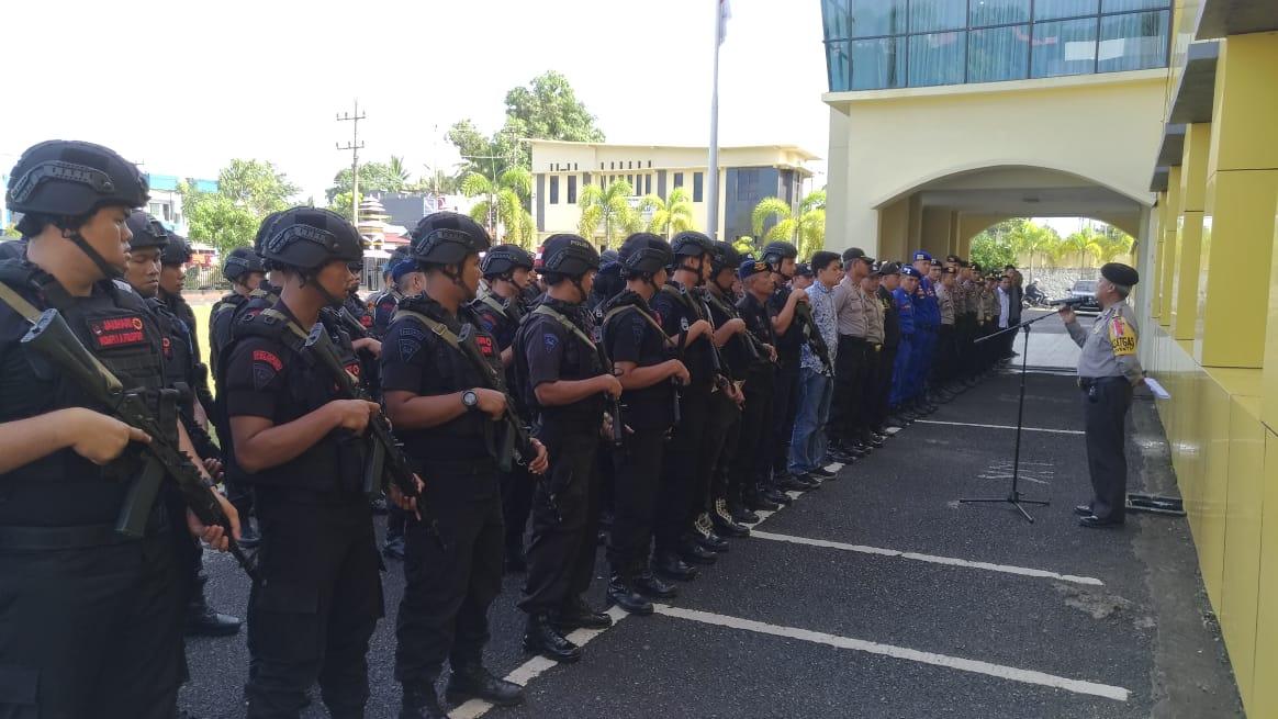 Pengamanan Pemilu, Polda Bengkulu Siagakan Satgas