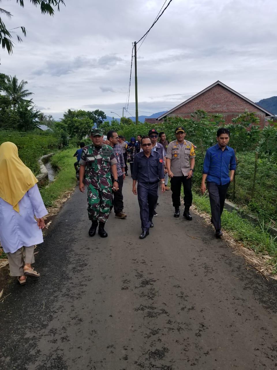 Polres Kepahiang Perketat Pengamanan PSU di 3 TPS Desa Kampung Bogor