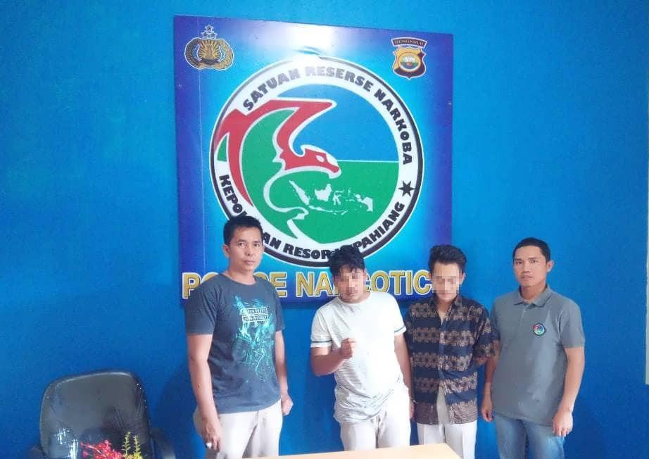 Polres KepahiangTangkap 2 Pemuda Pengedar Narkoba Lintas Kabupaten