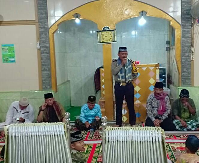 Bulan Ramadhan, Polres Lebong Gelar Tarawih Keliling