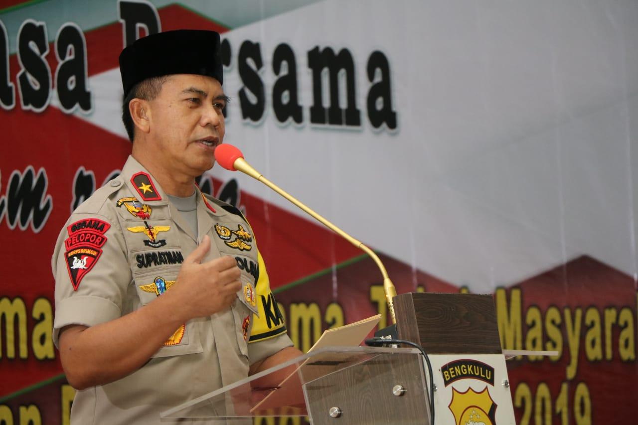 Bukber TNI-POLRI, Kapolda: Mari Rapatkan Barisan Jaga NKRI
