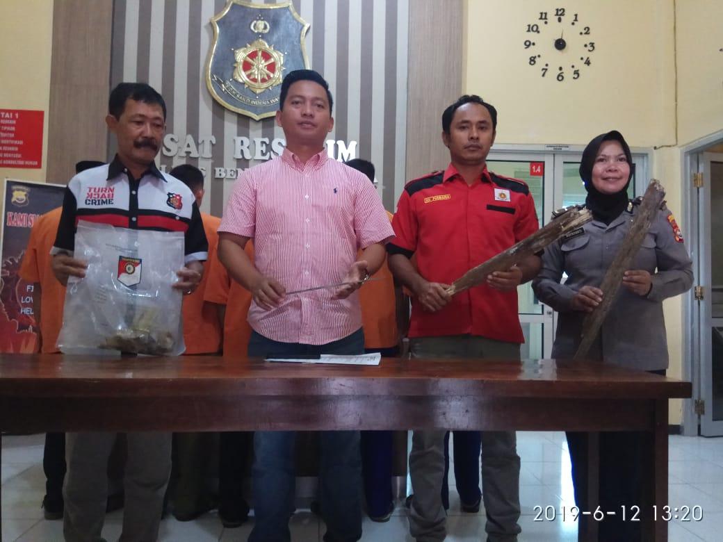 5 Pelaku Pembunuhan warga Pagar Jati Ditangkap Polisi