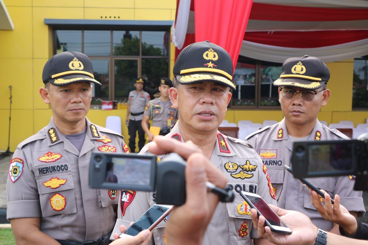 Kapolda Bengkulu Himbau Masyarakat Jaga Perdamaian Sikapi Sidang MK