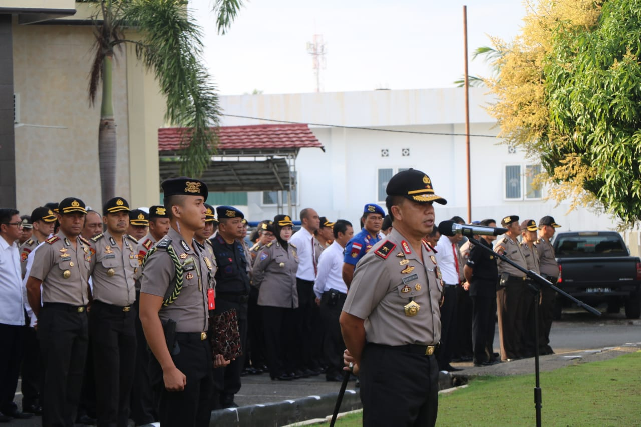 "Kapolda Bengkulu; ""Polres Jajaran Jangan Ragu Untuk Koordinasi dan Minta Bantuan"""