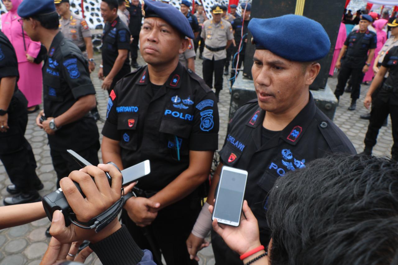 Brimob Korban Kerusuhan 22 Mei Tetap Semangat Jalankan Tugas