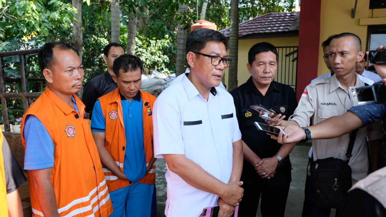 Polda Bengkulu Sita Ratusan Liter BBM Subsidi Tanpa Izin