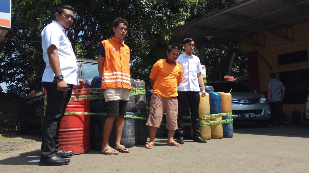 Kembali, Ratusan Liter BBM Subsidi Tanpa Izin Disita Polisi