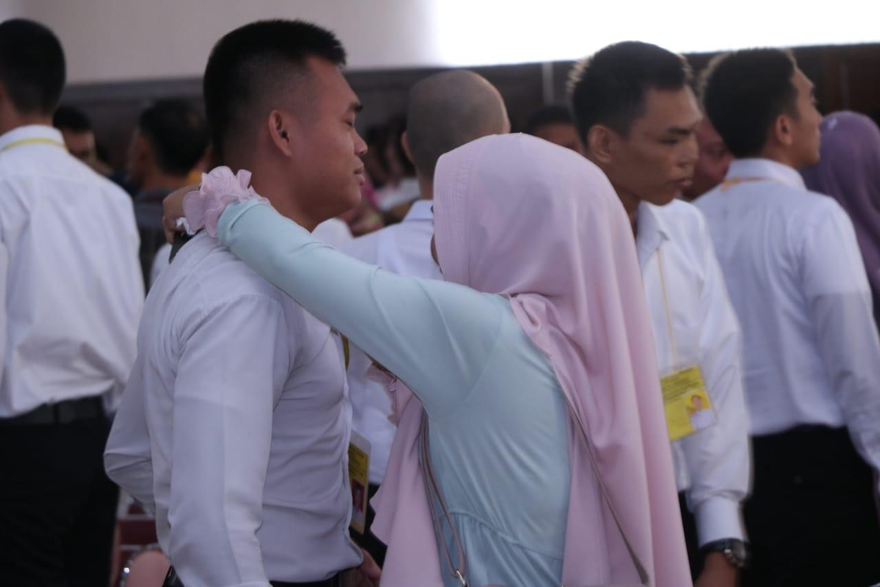 FOTO: Tangis Haru Sidang Kelulusan Bintara Polri T.A 2019