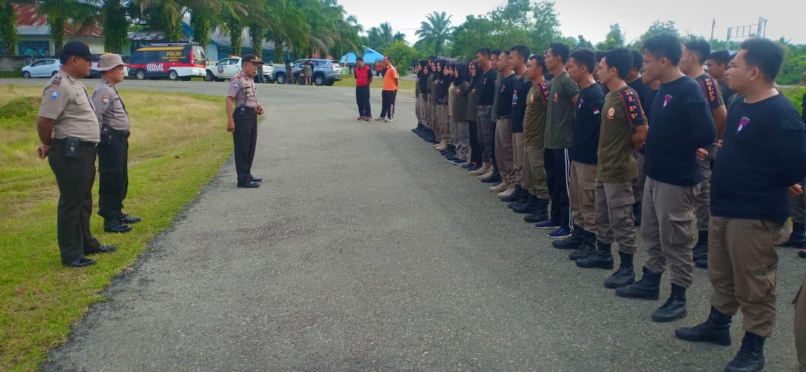 Polres Bengkulu Selatan Gelar Latihan Bersama Satpol PP