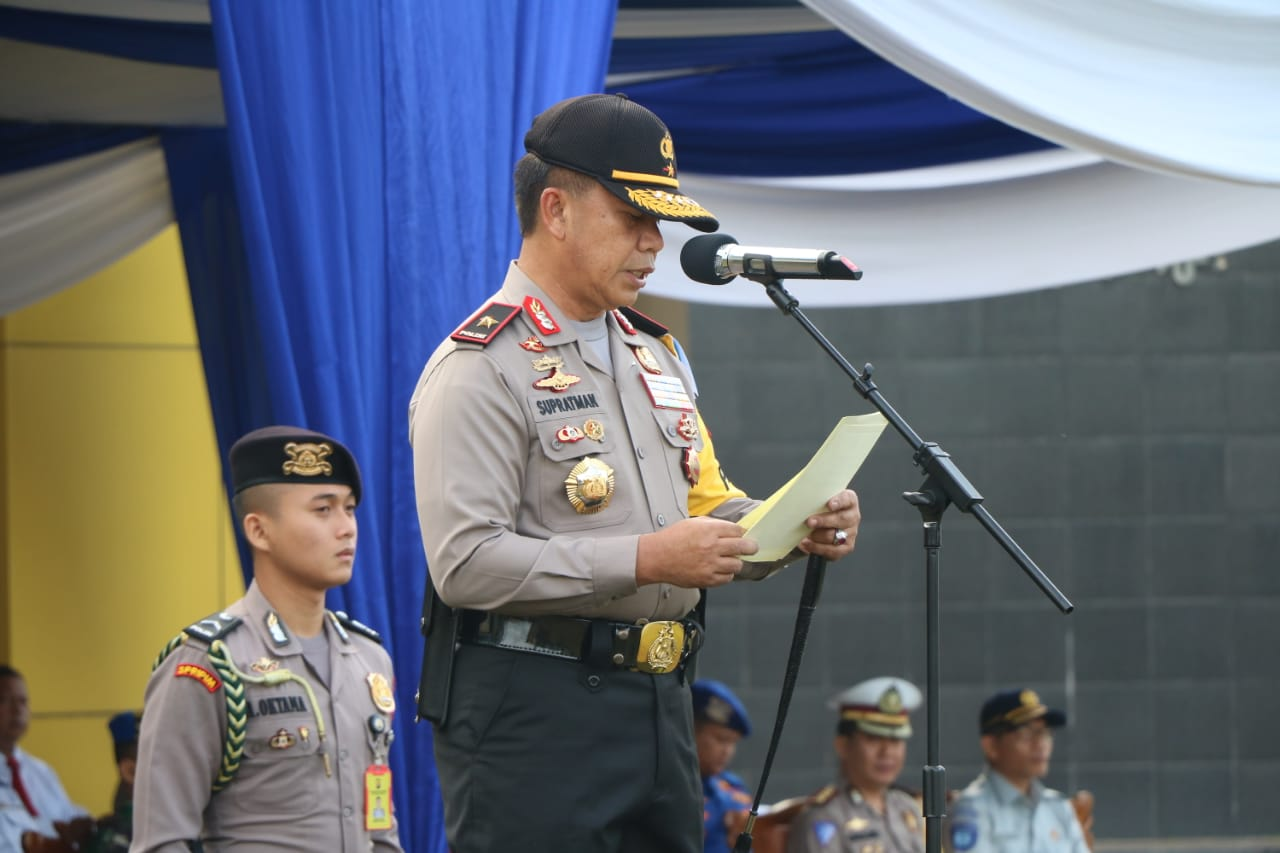 Polda Bengkulu Resmi Gelar Operasi Patuh Nala 2019