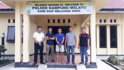 Bobol Kantor Lurah, Pemuda Muhajirin Ditangkap Polisi