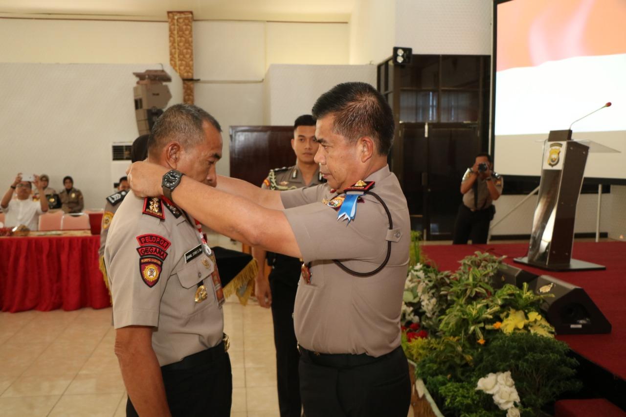 Kapolda Buka Pembekalan dan Pelatihan PNS Polri Jelang Purna Tugas.
