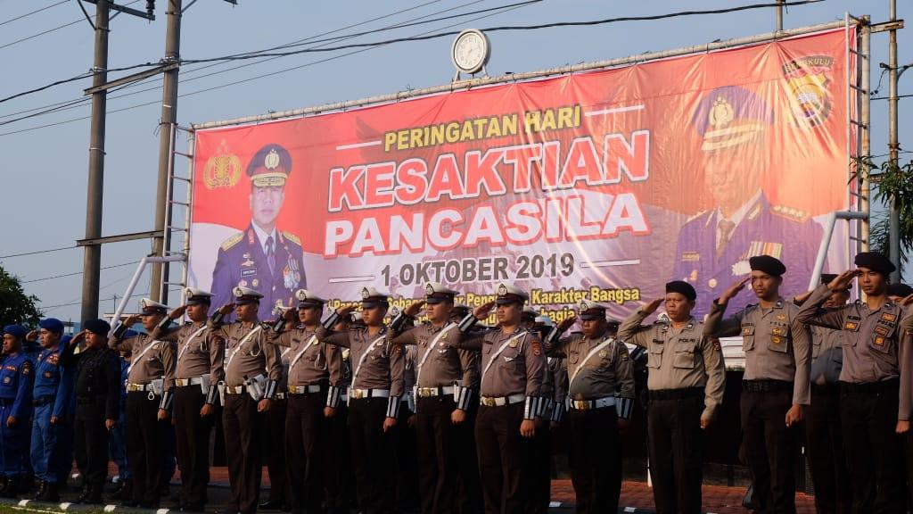 Polda Bengkulu Gelar Upacara Peringatan Hari Kesaktian Pancasila