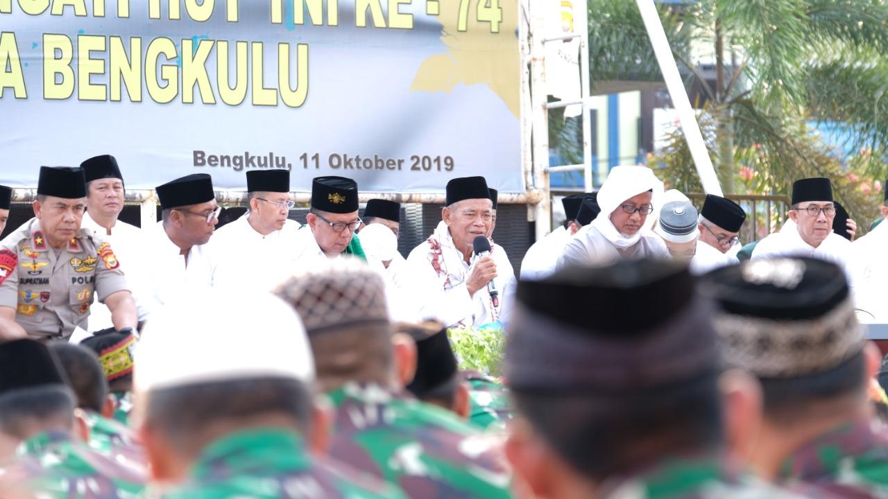 Masyarakat Bengkulu Gelar Istighotsah Untuk Indonesia Damai