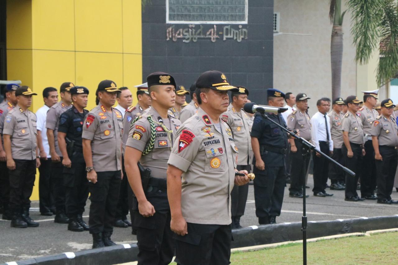 Kapolda Bengkulu; Jangan Biarkan Ada Oknum Yang Merusak Citra Kepolisian